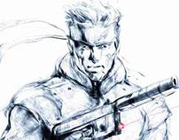 Metal Gear Solid Fan Art