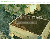Orto-urbano: a monopage site