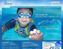 Aqualogic - Website Mock-up Design