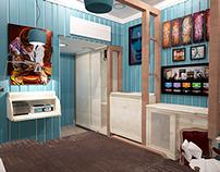 bedroom (3dsmax)