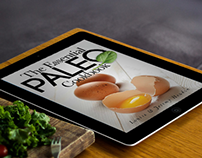 PALEO COOKBOOK WEB DESIGN