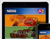UX / UI Nestle TV App