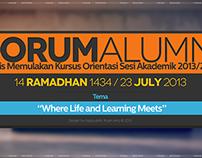 Forum Alumni 2013 Digital Backdrop