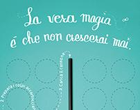 "RAINBOW MAGICLAND - campagna ""La vera magia"""
