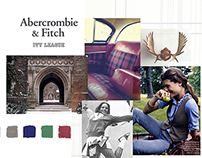 Abercrombie & Fitch Apparel Design Project 2015