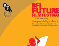 Poster for the BFI (British film festival)