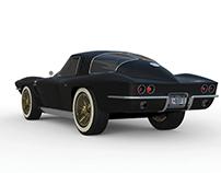 Corvette stingray & Sauber bodywork