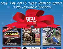 DCU Center Holiday Ad