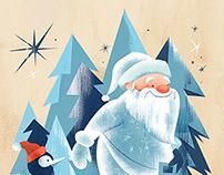 Holiday Card Illustrations