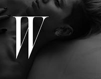 Type-Based Design: W Magazine