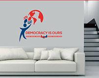 Democracy Logo Design