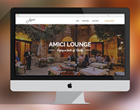 Design & Dev | Amici Lounge