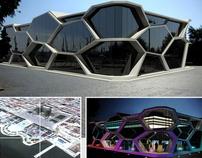 Conceptual Building in Park Boulevard, Azerbaijan Baku