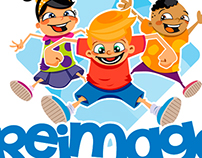 Reimage Kids Logo Design