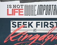 MATTHEW 6 | Verses Poster Series
