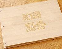 Kim·Shi Restaurant Branding & Menu Design