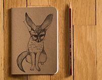 A6 Kraft Notebooks