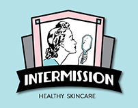 Intermission Healthy Skincare Logo & Branding