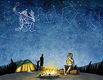 Reading under the Star