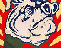 Animal Farm - Book Jacket & Spread Design