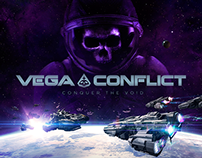 VEGA Conflict Key Art Animation