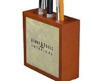 Branding For Business Designer Desk Organizers