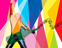 Pawleys Island Art & Music Festival Poster