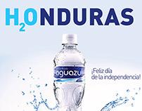 Saludo Independencia Honduras - Aguazul