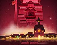 Studio Ghibli Triptych