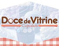 Doce de Vitrine - Cupcakes