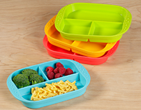 Kinderville Silicone Food Storage and Serving Ware