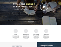 Staffing company and coding class website