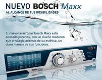Diseño Lavarropas Bosch