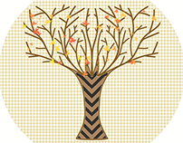 Fall Stitches - Trees and Such