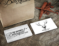 Business Card Design: Vulture's Banquet