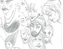 October Sketchbook