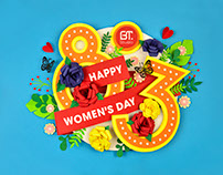 Papercraft for Women's Day