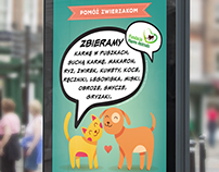 Fundacja Happy Animals - poster i nadruk