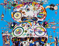 New Murakami at Gagosian Gallery for The Last Magazine