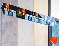 Way finding Design - Kangan Institute ACE