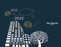 New Year Card 2015- The Westin Dhaka
