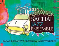 Poster Art - Sachal Jazz Ensemble India Tour