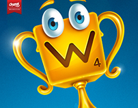 Wordsy -  Mascot Design