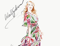 Dolce&Gabbana illustration