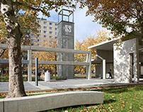 Rehabilitation of public place, Nyíregyháza