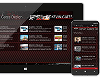 Kevin Gates Design Windows App