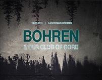 BOHREN und der CLUB of GORE, Poster