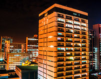 Urban Nairobi Nightscape