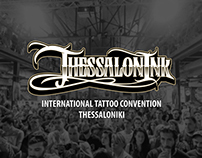 Thessalonink Tattoo Convention Identity (2014)
