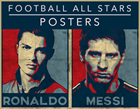 FOOTBALL ALL STARS - POSTERS